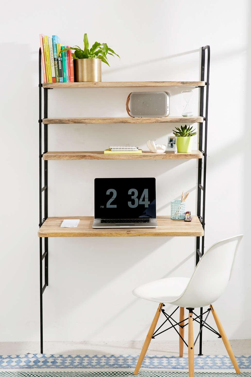 Slide View: 1: Cameron Adjustable Desk Storage System