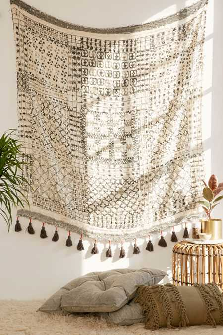 Besso Textured Fringe Tapestry