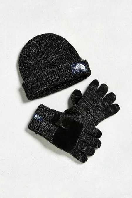 The North Face Salty Dog Beanie + Gloves Box Set