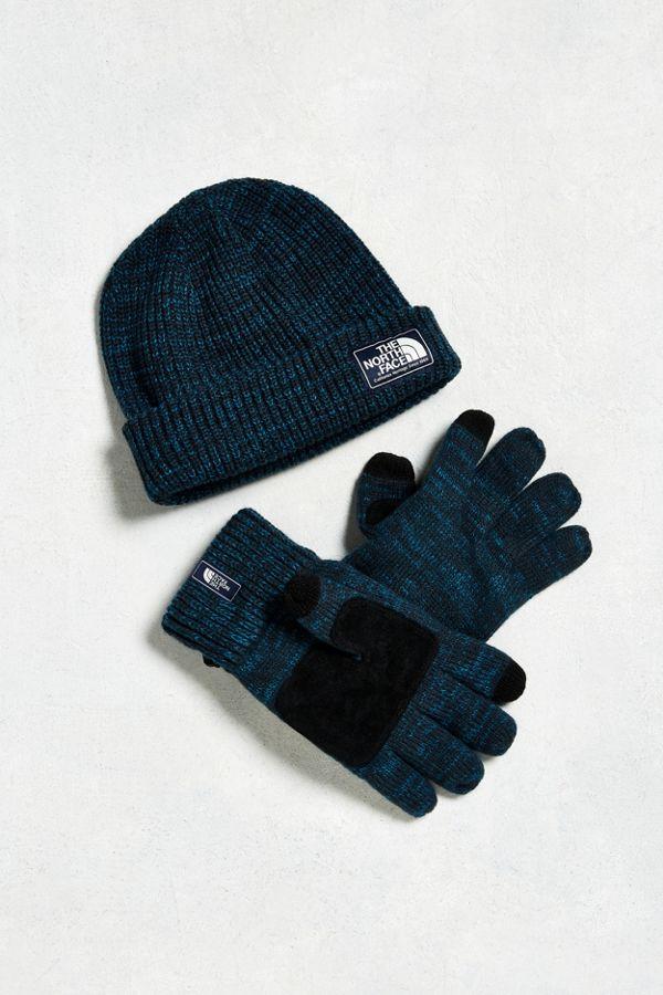 The North Face Salty Dog Beanie + Gloves Box Set  4267de7f922