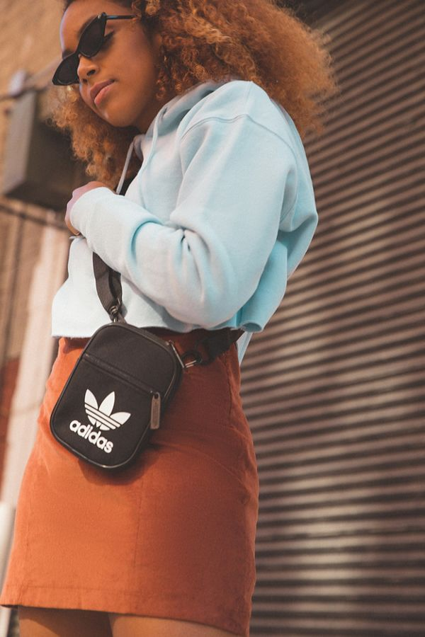 adidas Originals Trefoil Festival Crossbody Bag   Urban Outfitters dabc957bc4