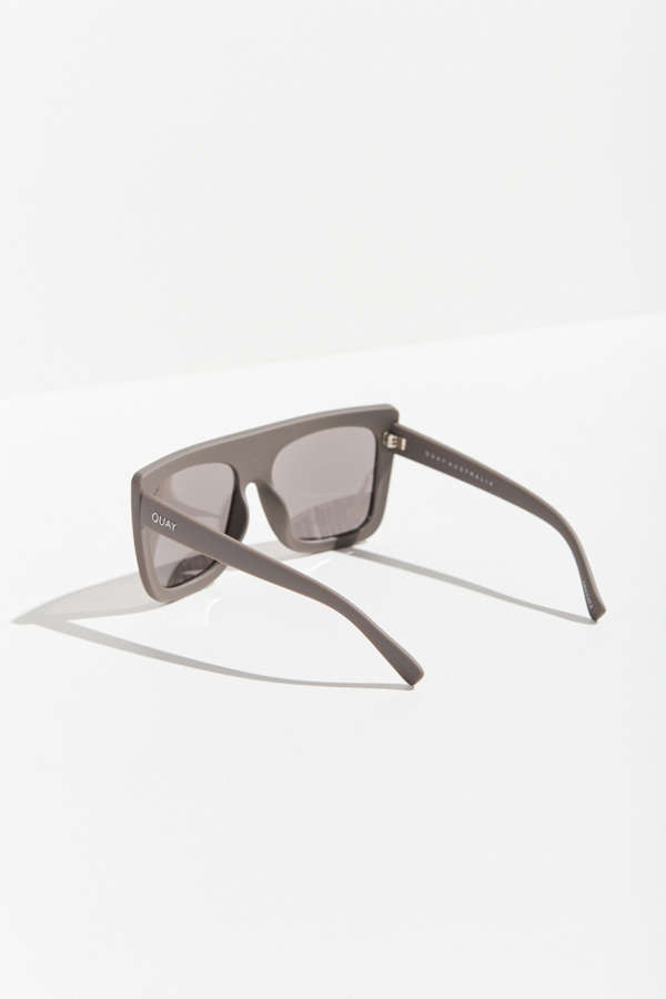 quay cafe racer square sunglasses | urban outfitters