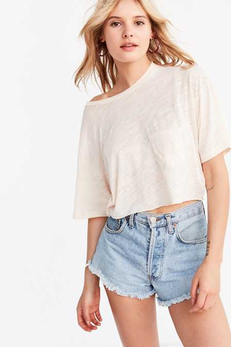 Project Social T Johnny Cropped Tee