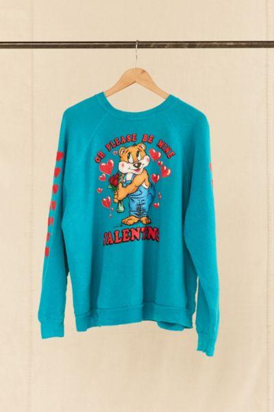 Vintage Valentine Bear Sweatshirt
