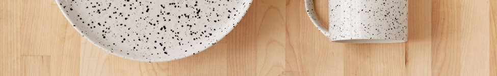Thumbnail View 1: 12-Piece Speckled Dinnerware Set