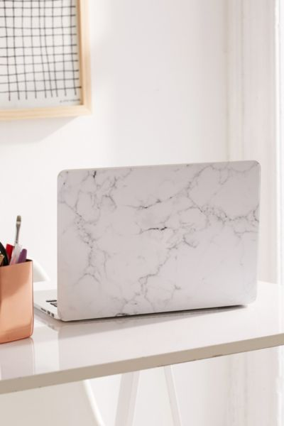 White Marble Macbook Pro Retina Laptop Skin Urban Outfitters