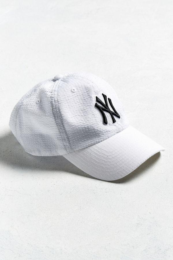 47 Brand New York Yankees Seersucker Hat  7bceffb3783