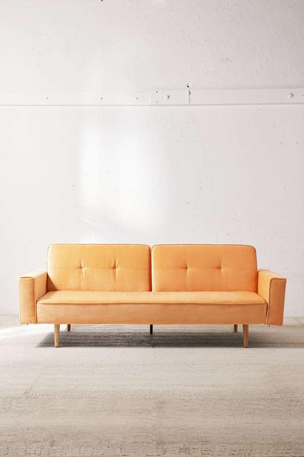 Velvet Sleeper Sofa Viyet Designer Furniture Seating Lee