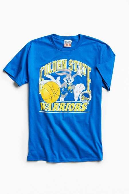 Junk Food Looney Tunes Golden State Warriors Tee
