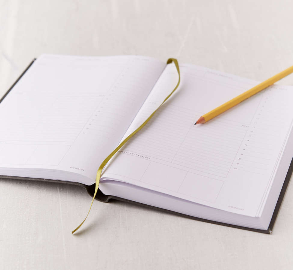 Slide View: 4: Daily Planner Journal