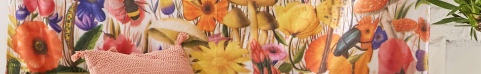 Thumbnail View 1: Trippy Floral Tapestry
