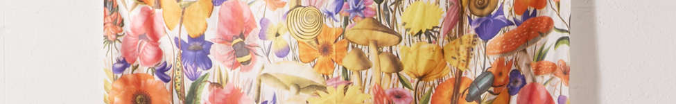 Thumbnail View 2: Trippy Floral Tapestry