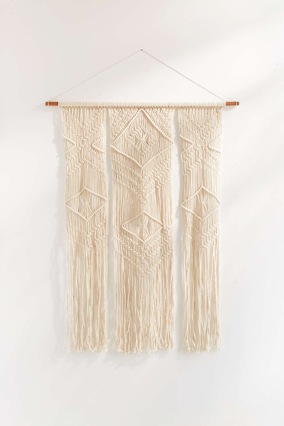 Slide View: 1: Fallon Macrame Wall Hanging
