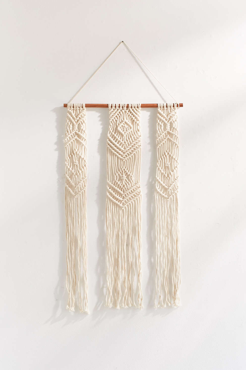 Fallon Macrame Wall Hanging Urban Outfitters