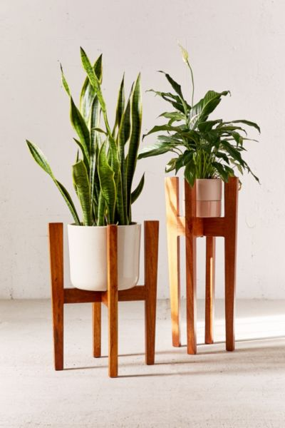 Knock Down Plant Stand - Brown S at Urban Outfitters