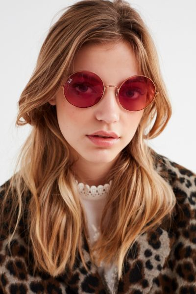 Ray Ban The Ja Jo Round Sunglasses Urban Outfitters