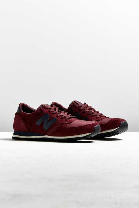 New Balance 420 Burgundy + Navy Sneaker