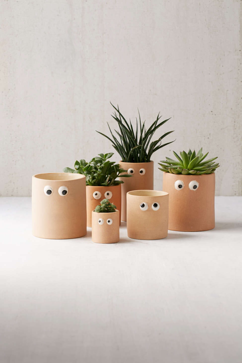 Slide View: 1: Henry Googly Eye Planter