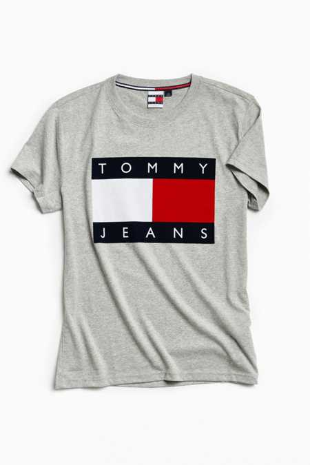 Tommy Jeans '90s Flocked Logo Tee