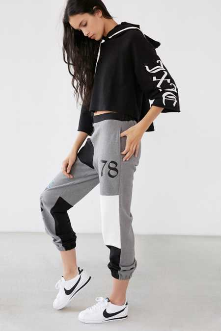 Juicy Couture For UO High-Rise Color Block Sweatpant