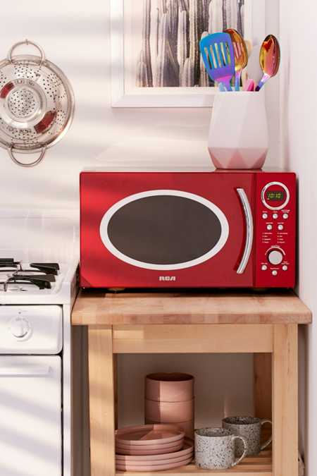 RCA Retro Red Microwave