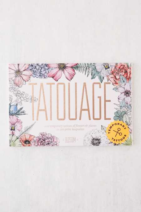 Tatouage: Blossom - 102 Temporary Tattoos of Flowers & Plants By Victoria Foster