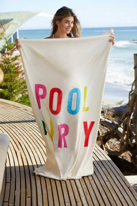 ban.do Pool Party Beach Towel