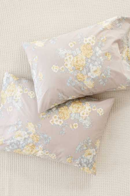Veronica Chintz Floral Pillowcase Set