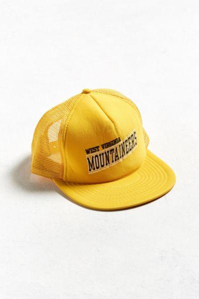 Vintage West Virginia Mountaineers Trucker Hat