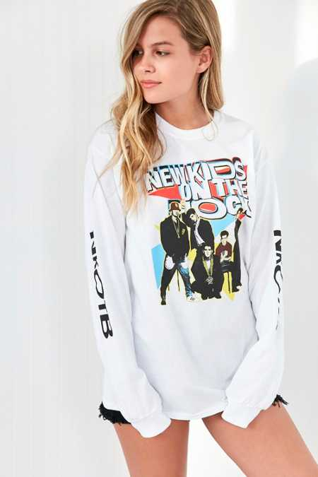 New Kids On The Block Long Sleeve Tee