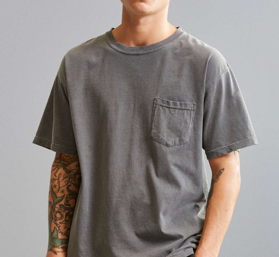 Slide View: 1: Comfort Colors Pocket Tee