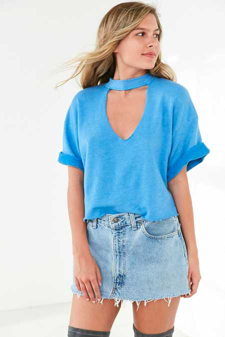 Truly Madly Deeply Ollie Cutout Sweatshirt