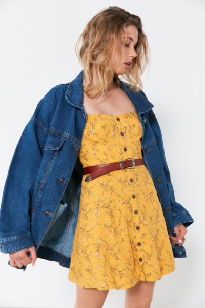BDG Dani Oversized Denim Trucker Jacket - Rinsed Denim One Size at Urban Outfitters