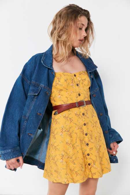 BDG Dani Oversized Denim Trucker Jacket
