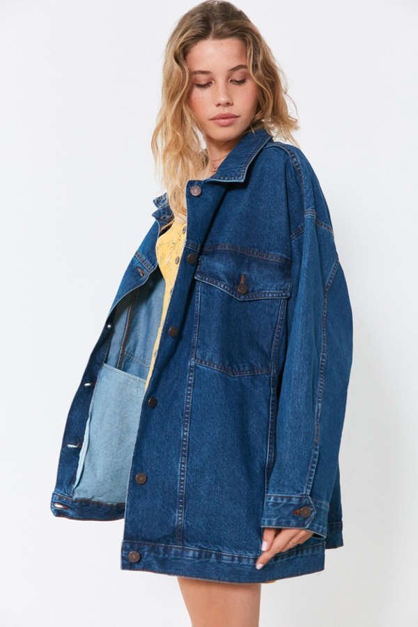ec2d7a0c22 BDG Dani Oversized Denim Trucker Jacket at Urban Outfitters