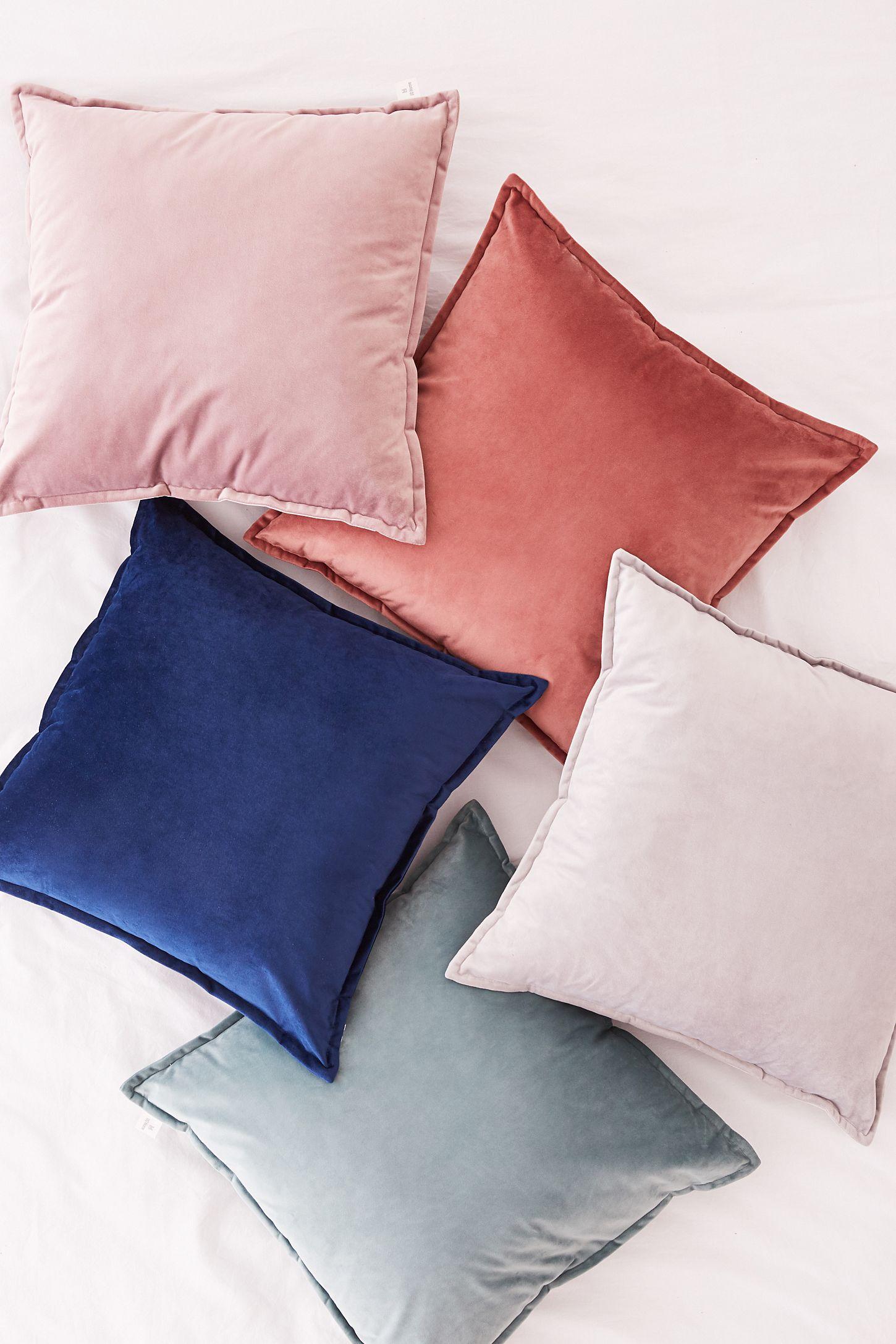 Slide View  4  Velvet Throw Pillow 0f46b0d2b137