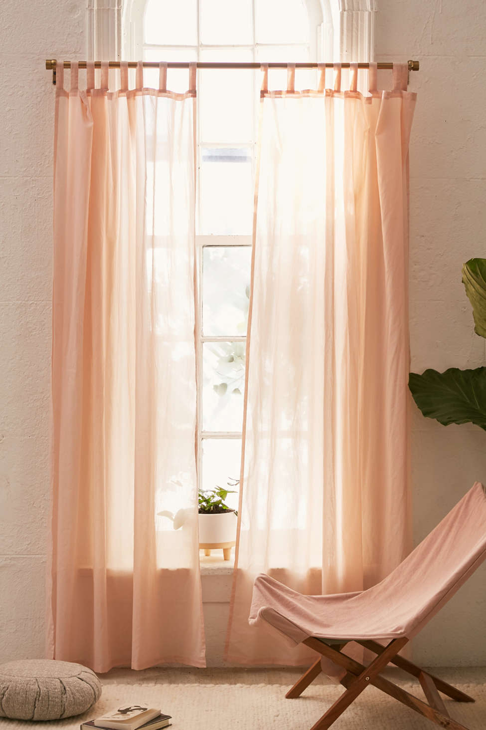 Slide View: 1: Sheer Voile Window Curtain