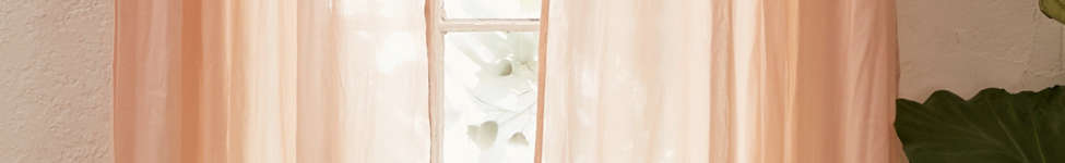 Thumbnail View 1: Sheer Voile Window Curtain
