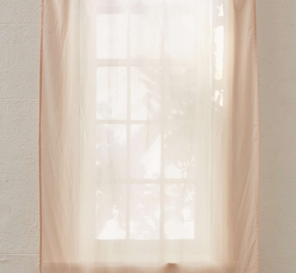 Slide View: 2: Sheer Voile Window Curtain