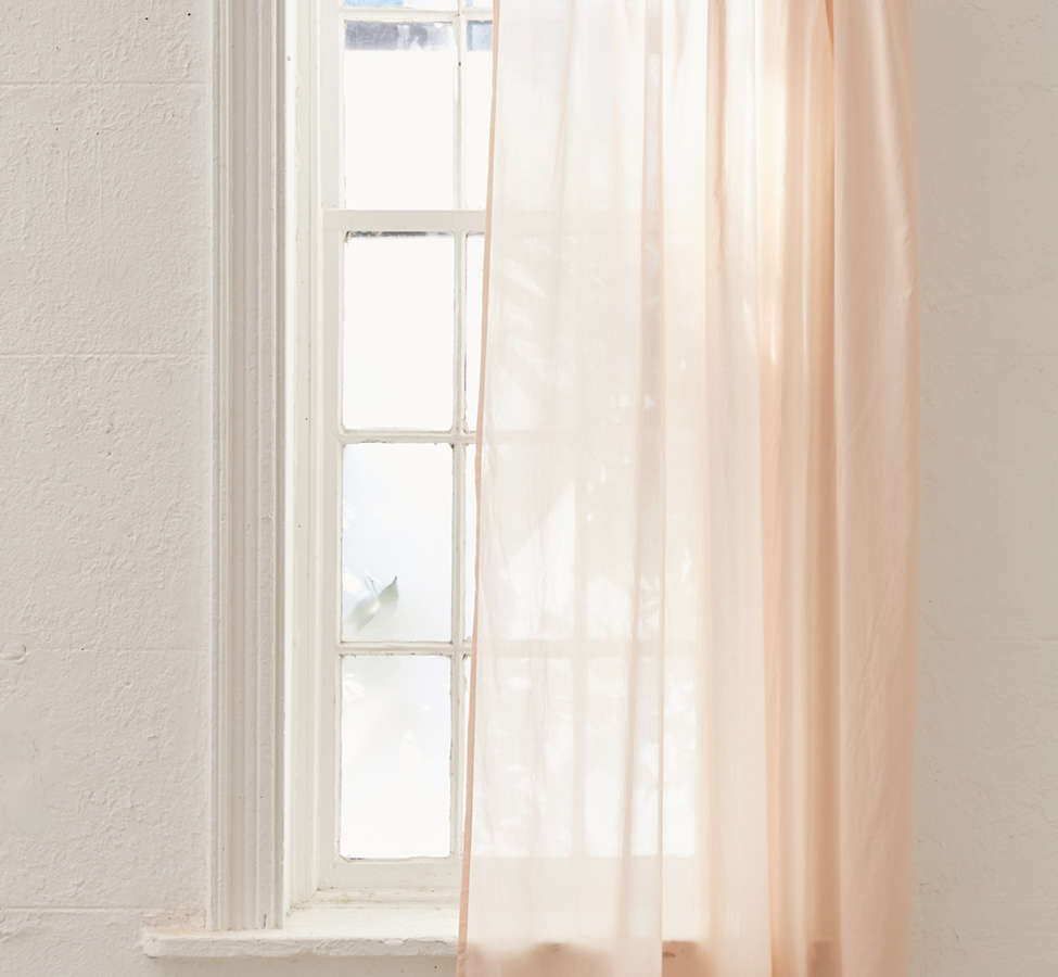 Slide View: 3: Sheer Voile Window Curtain