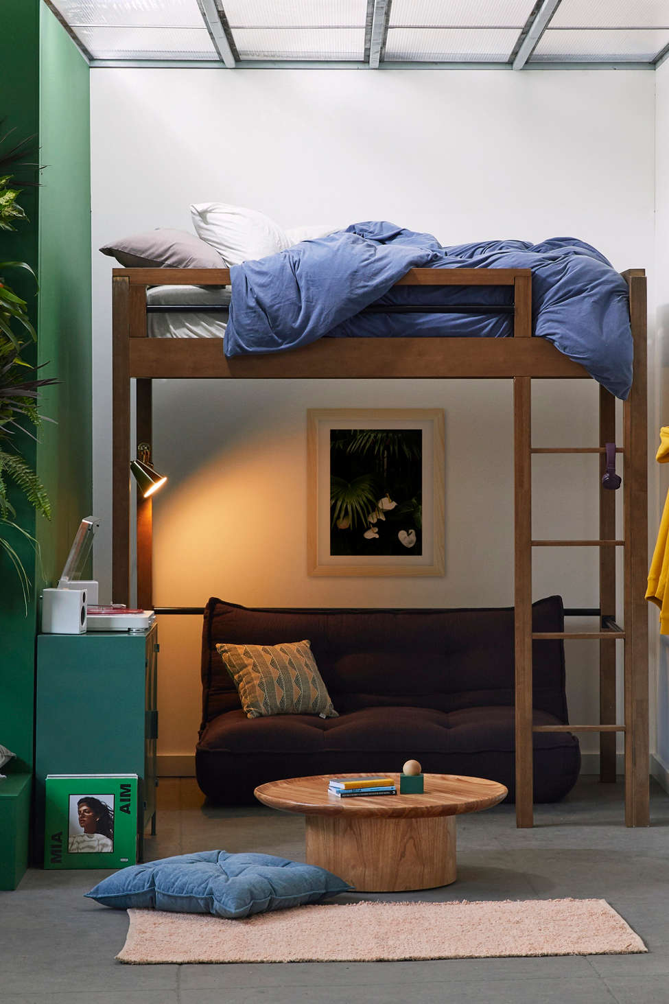 Slide View: 1: Fulton Loft Bed