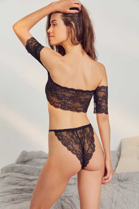 Out From Under Naomi French Cut Galloon Lace Undie