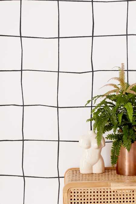 Wonky Grid Removable Wallpaper