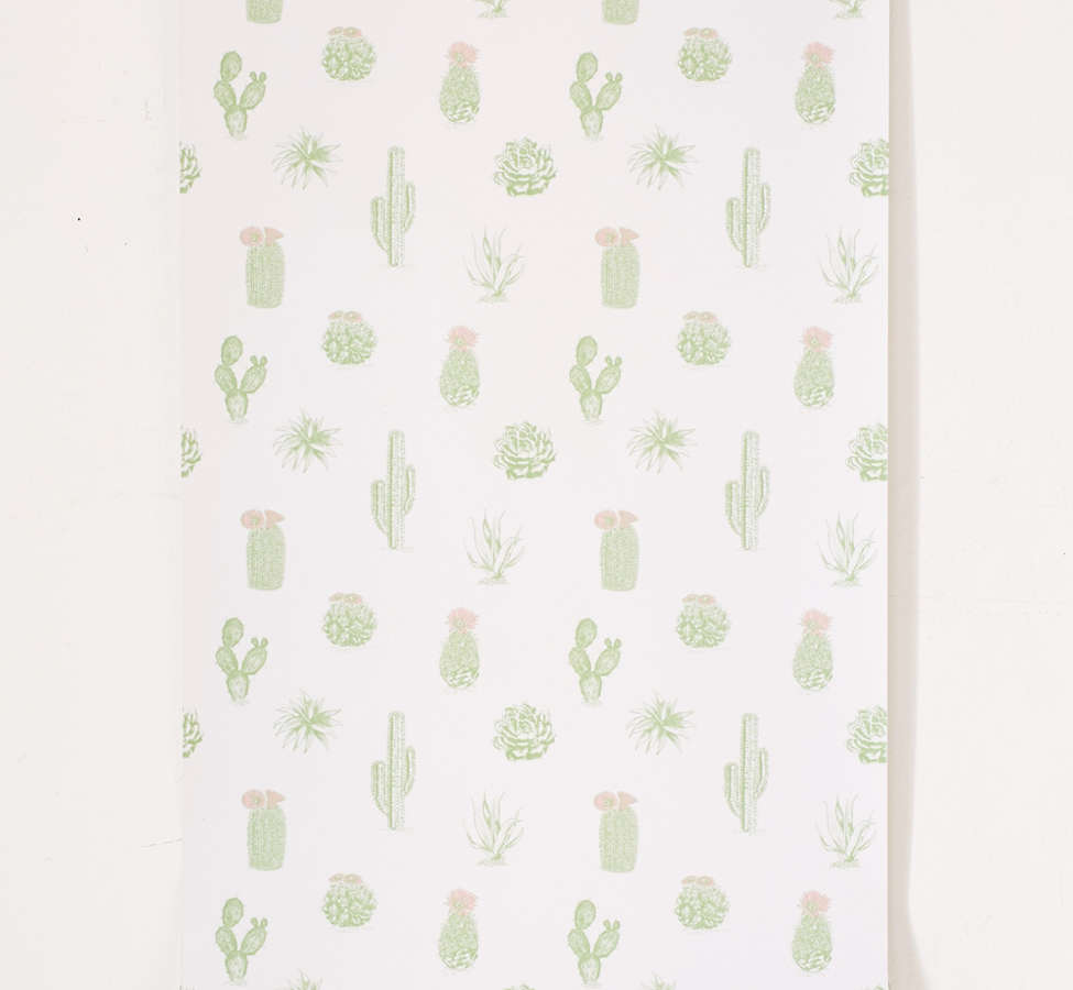 Slide View: 2: Cactus Icon Removable Wallpaper