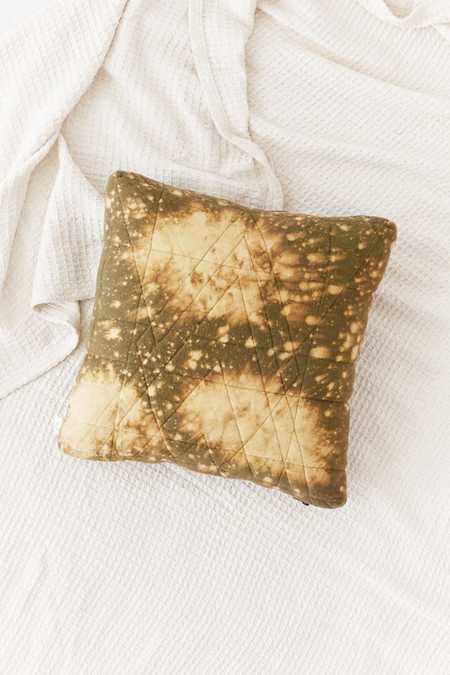 Modern Bleached Flannel Pillow