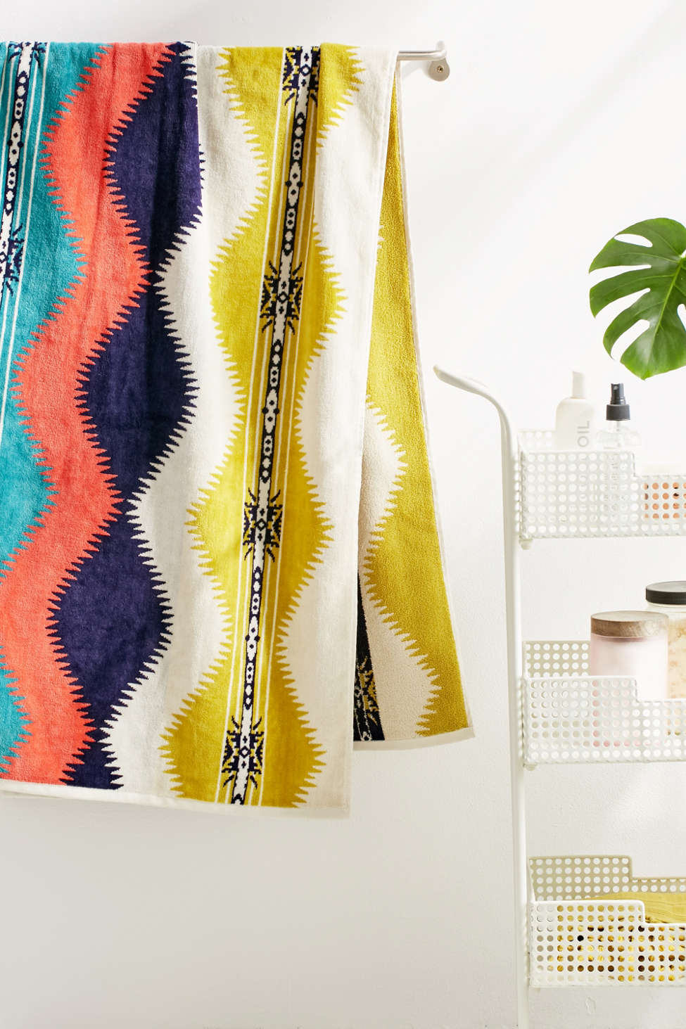 Slide View: 1: Pendleton Saguaro Oversized Towel