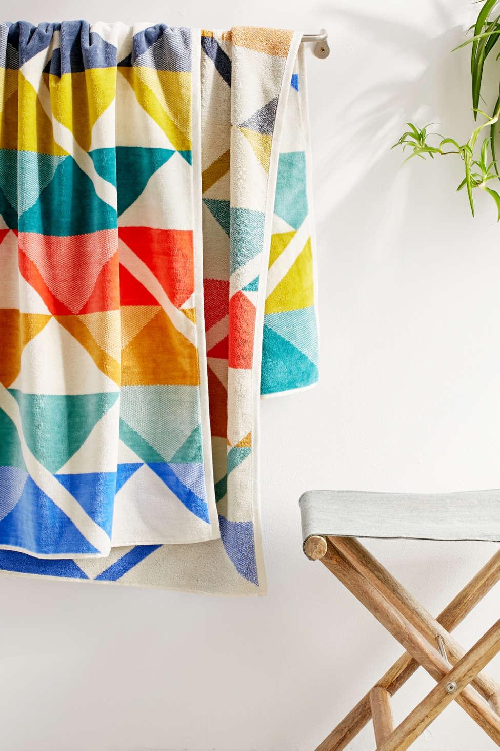 Slide View: 2: Pendleton Serrado Towel For Two Oversized Towel