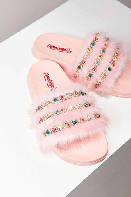 Jeffrey Campbell Jova Jeweled Slide