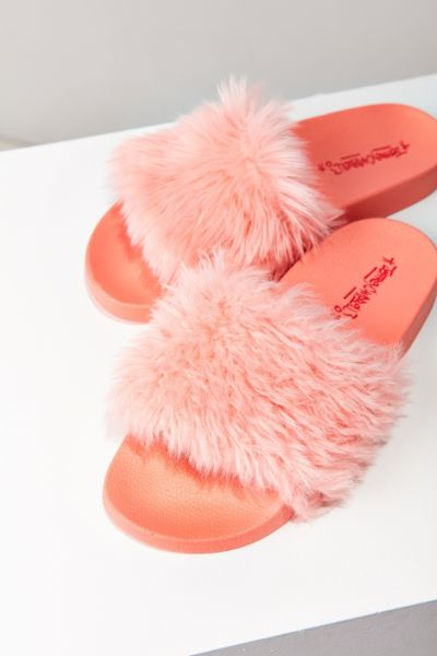 Jeffrey Campbell Lucky Me Slide - Pink 8. at Urban Outfitters