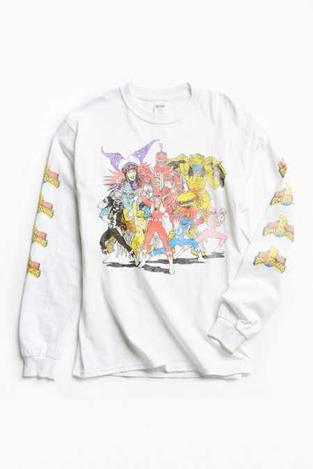 Power Rangers Long Sleeve Tee
